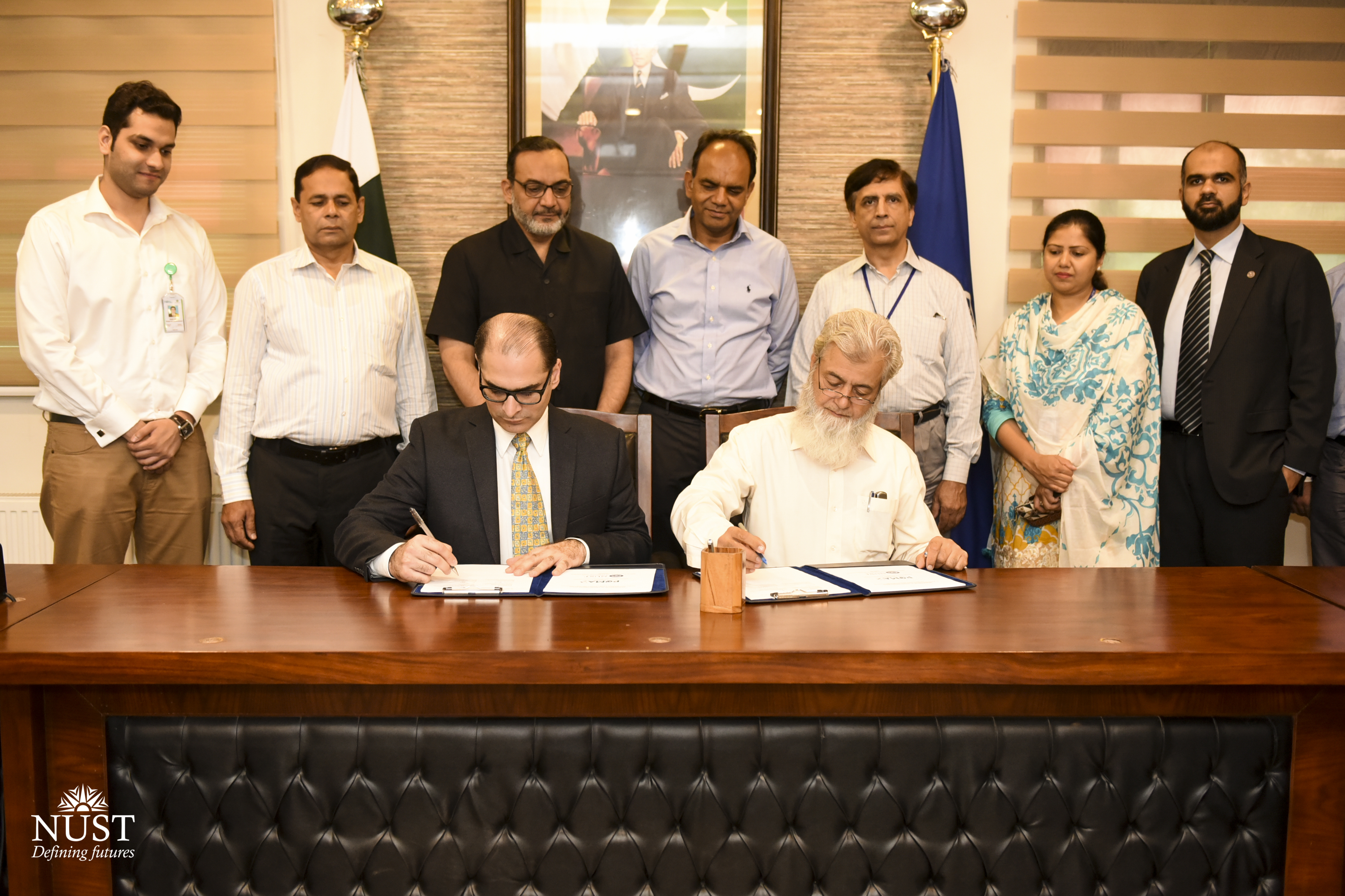 MoU signing ceremony took place on Aug 1, 2018, at